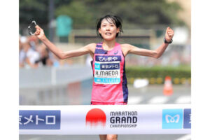 東京オリンピックマラソン前田選手